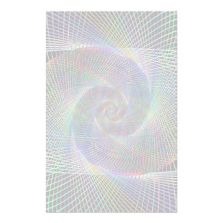 Psychedelic Spiral Customized Stationery