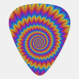 Psychedelic Spiral Guitar Pick