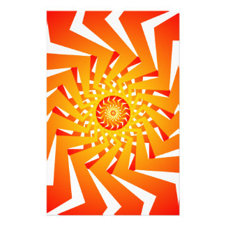 Psychedelic Spiral Pattern: Vector Art: Stationery Design