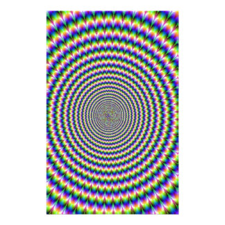 PSYCHEDELIC SPIRAL. CUSTOM STATIONERY
