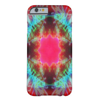 Psychedelic sun mandala barely there iPhone 6 case