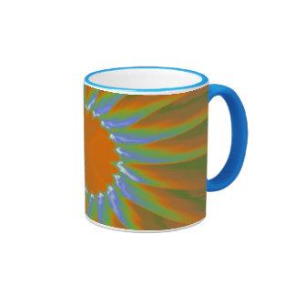 Psychedelic Sunburst Mugs