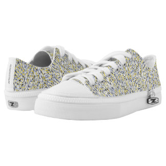 Psychedelic Sunshine Low Tops