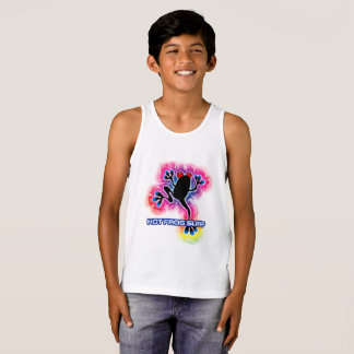 Psychedelic Surf Frog tank top T