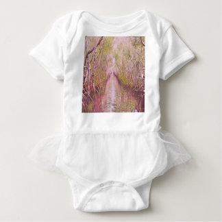Psychedelic Swamp Baby Bodysuit