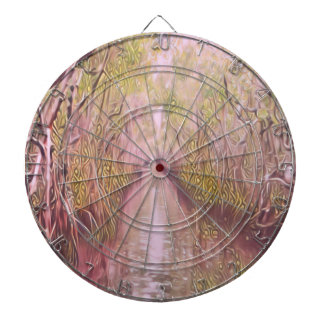 Psychedelic Swamp Dartboard