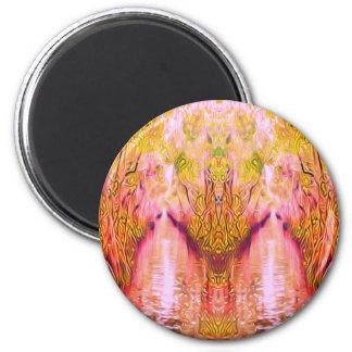 Psychedelic Swamp Magnet