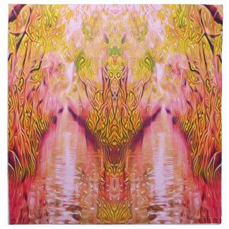 Psychedelic Swamp Napkin