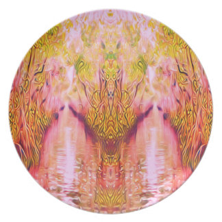 Psychedelic Swamp Plate