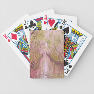 Psychedelic Swamp Poker Deck