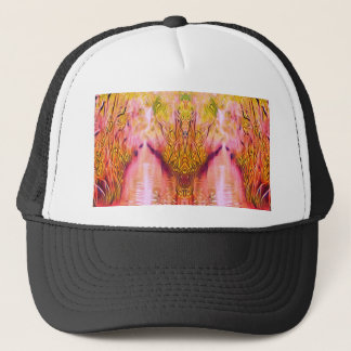 Psychedelic Swamp Trucker Hat