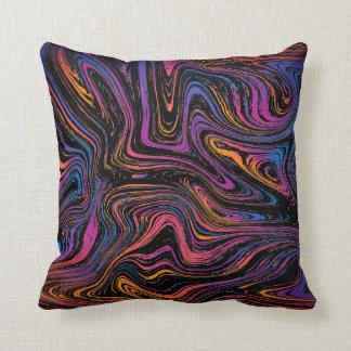 Psychedelic Swirl Cushion