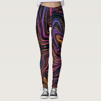 Psychedelic Swirl Leggings