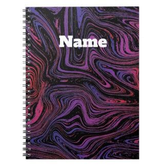 Psychedelic Swirl Notebooks