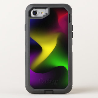Psychedelic Swirl OtterBox Defender iPhone 8/7 Case