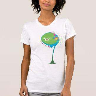 Psychedelic Swirly Tree Shirt