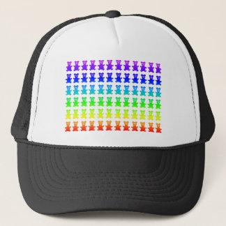 Psychedelic teddy bears. trucker hat