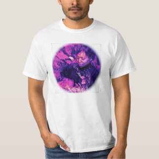 Psychedelic Tee by C. Grampp (white)