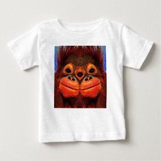 Psychedelic Three Eyed Monkey Baby T-Shirt