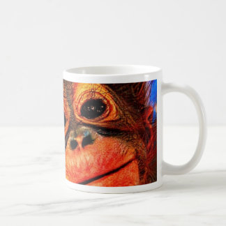 Psychedelic Three Eyed Monkey Coffee Mug