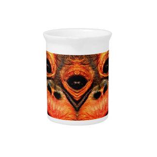 Psychedelic Three Eyed Monkey Pitcher