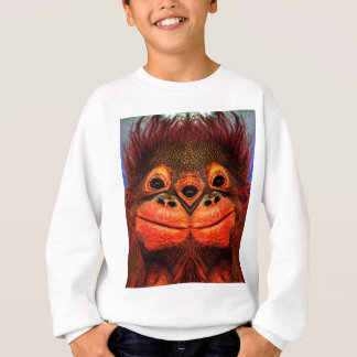 Psychedelic Three Eyed Monkey Sweatshirt