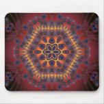 Psychedelic Tie-Dye Artwork: Mousepads