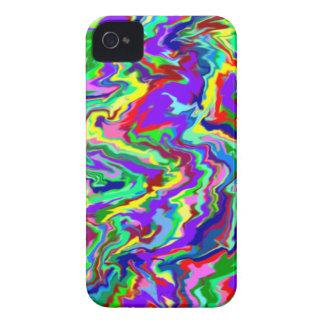 Psychedelic Tie Dye Blackberry Case