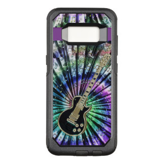 Psychedelic Tie-Dye Guitar Music Otterbox S8 Case