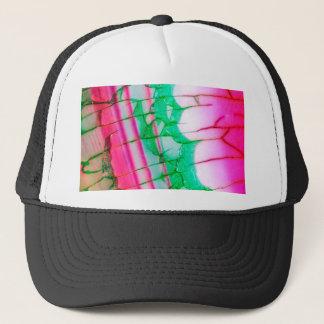 Psychedelic Tie Dye Quartz Trucker Hat