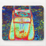 psychedelic toy car mousepads