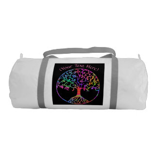 Psychedelic Tree of Life Gym Bag