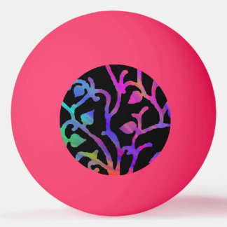 Psychedelic Tree of Life Ping Pong Ball