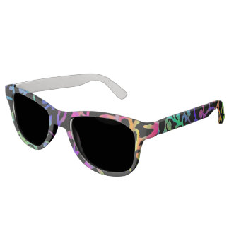 Psychedelic Tree of Life Sunglasses
