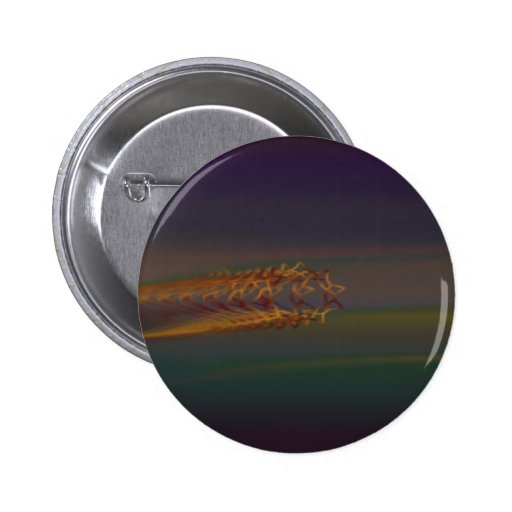 Psychedelic visuals pinback buttons