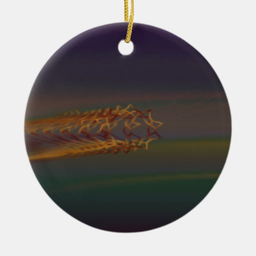 Psychedelic Visuals Christmas Ornaments