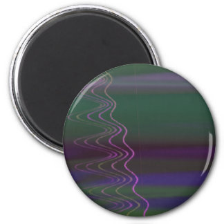 Psychedelic Visuals Magnet