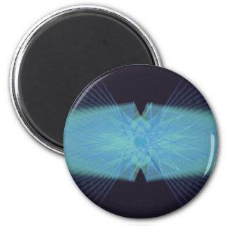 Psychedelic Visuals Refrigerator Magnet