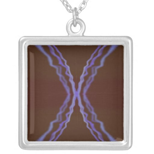 Psychedelic Visuals Necklace