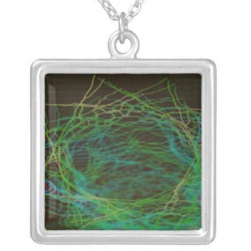 Psychedelic Visuals Custom Necklace