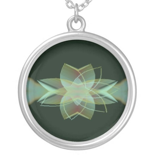 Psychedelic Visuals Personalized Necklace