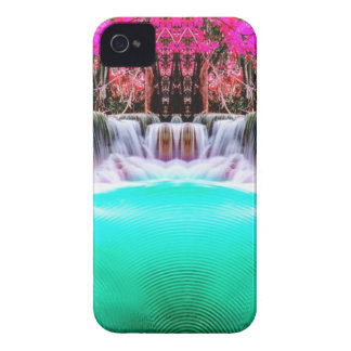 Psychedelic Waterfall iPhone 4 Cover