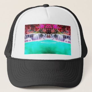 Psychedelic Waterfall Trucker Hat