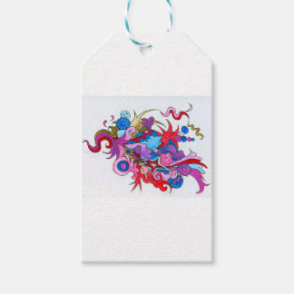 Psychedelic Wave Gift Tags
