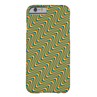 Psychedelic Waves Barely There iPhone 6 Case