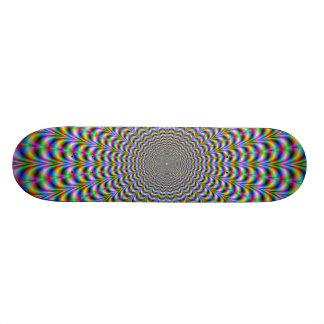 Psychedelic Web Skateboard