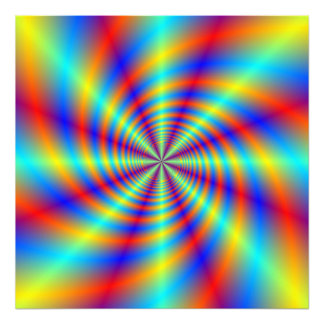 Psychedelic Whirl Photograph