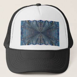 Psychedelic Winter Trucker Hat