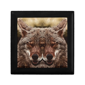 Psychedelic Wolf Gift Box