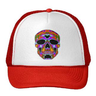 Psychedellic Skull Trucker Hat
